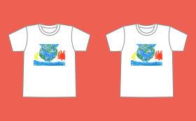 【チャリティー企画】東南アジアのこどもと仲良しペアルックTシャツ!