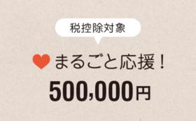 【税控除対象】まるごと応援500,000円コース