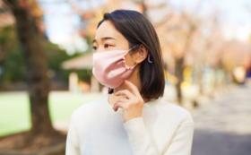 【コロナに負けるな】シルクマスク(1色)