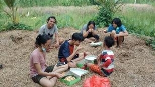 バリ島の山奥の小さな村macang村を知って下さいコース
