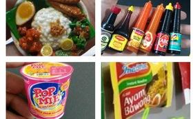 バリ好きさん必見!インドネシアの食品&生活雑貨モチーフマグネット10個セットコース