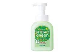 手洗い石鹸 シャボグリーンフォーム 泡ポンプ付き(250ml)イベント応援コース