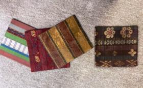 帯屋捨松の帯の生地で作った古帛紗
