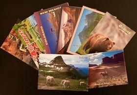 [国立公園から絵葉書発送!] お礼のお手紙と共に国立公園ポストカードを公園からご自宅に発送!