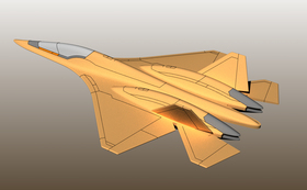 Su-57 フェロン 4個+MultiStand 1個