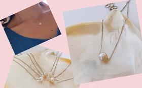 LUNA PEARL BALIの南洋白蝶真珠のスルーネックレス コース