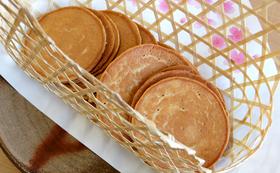 たまご煎餅10枚+手作りコースター5枚セット