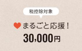 【税控除対象】まるごと応援30,000円コース