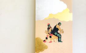 森博幸:プロレス日本画作品 オーダーコース