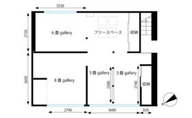 新設 2Fgallery 8畳ギャラリー2週間使用権+展示プロデュースパック