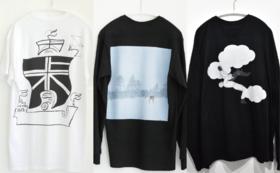 「岩田商店」作家コラボ Tシャツ(3種類)コース