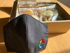 色彩-Color's-オリジナル布マスク+こだまクッキー詰め合わせ