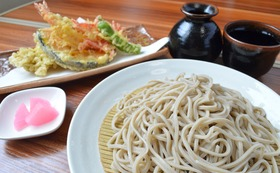 天ぷらそば実食(5食分) 付き応援コース
