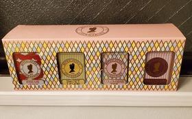 紅茶ミニ缶4缶セットのプレゼント