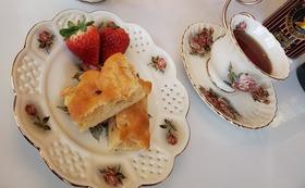 お店での1回無料または店内販売の紅茶の70%OFF