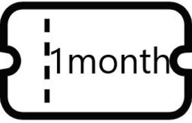 マンスリーチケット(一か月使い放題)