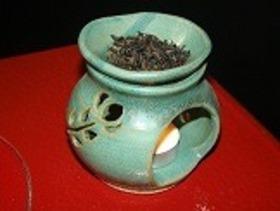 茶香炉(約8cm)(送り先は日本国内に限らせていただきます)