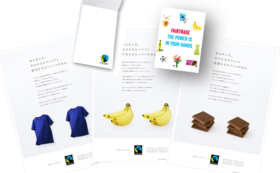 【ご寄付コース】ツールを使ってフェアトレードを広めよう(メモ帳・ポスター3枚組付き)