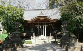 「石神井氷川神社にての御朱印」