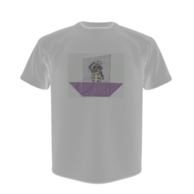 オリジナルTシャツと画像データ