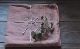 サンクスメール+篠山産クロモジの草木染め大風呂敷