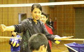 迫田さおり「バレーボールコーチ教室」