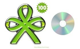 シトラスリボン ピンバッジ 100個 + アーカイブ動画CD