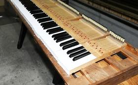 【お仕事体験】ピアノ再生ワークショップ(鍵盤磨き)