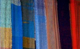 城 充宏様制作「さをり織り」一反 (約7m〜8m)