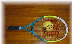 各テニス資料と手づくり用具製作資料 並びに 高品質スポンジボール 3個とラケット1本を提供します