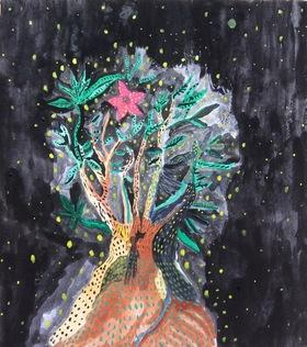 原画『ぼくは木になりたい』