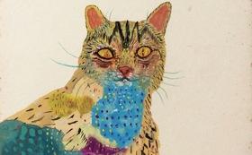 原画『色に住む猫』