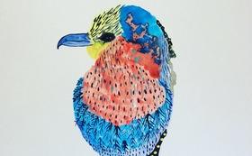 原画『鳥の虹み』