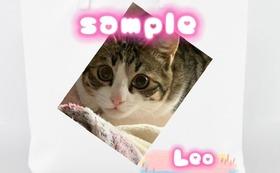 オリジナルトートバック【Sサイズ】   Leoの写真付き 3枚セット