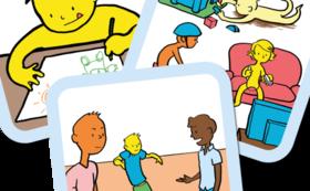 トーキングマット「子ども・青少年との対話」フルセット(日本語版)