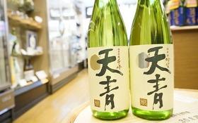 茅ヶ崎の地酒「天青」ミニ限定ラベル+「天青(吟望・千峰)」飲み比べセット(720ml)