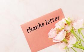 【沢山ご支援をしてくださる方向け】手書きのお手紙