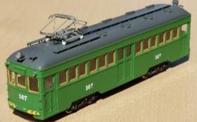 グッズコースD|モ161号 1/80縮尺 車両模型(HOゲージ鉄道模型)