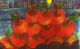 MARRY CALL  イラスト絵画データ1作品 送付「林檎の気持ち」