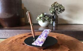 木地師の里で作られた、手作りボールペン!