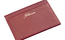 Minimalist Wallet Antique Red Outlet