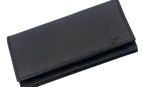Long Wallet Antique Black Outlet