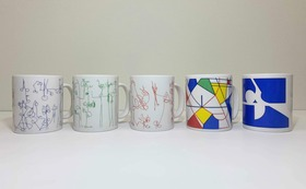 川島猛デザインのマグカップとお礼のお手紙