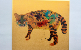 原画『記憶の山猫』