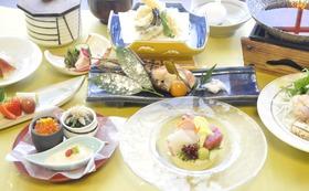 ペアご宿泊券(1泊2食)ご夕食は季節の会席コース