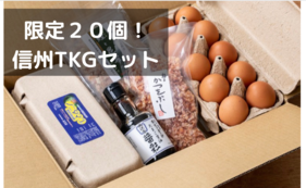【早期割引・限定20個】信州産TKGセット