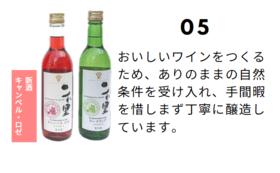 是里ワイナリーの新酒ワインセット&除菌ウエットティッシュ