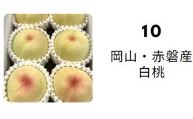 塚本農園の「白桃」&除菌除菌ウエットティッシュ