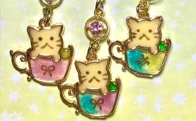 猫ちゃんチャーム(茶トラ)