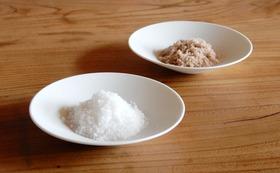 自慢の塩100g×2種類(能登島の海塩/藻塩)